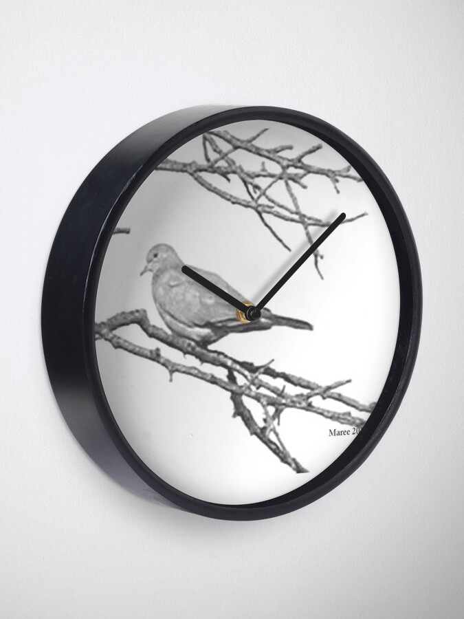 Alternate view of Why would you leave me...? Clock
