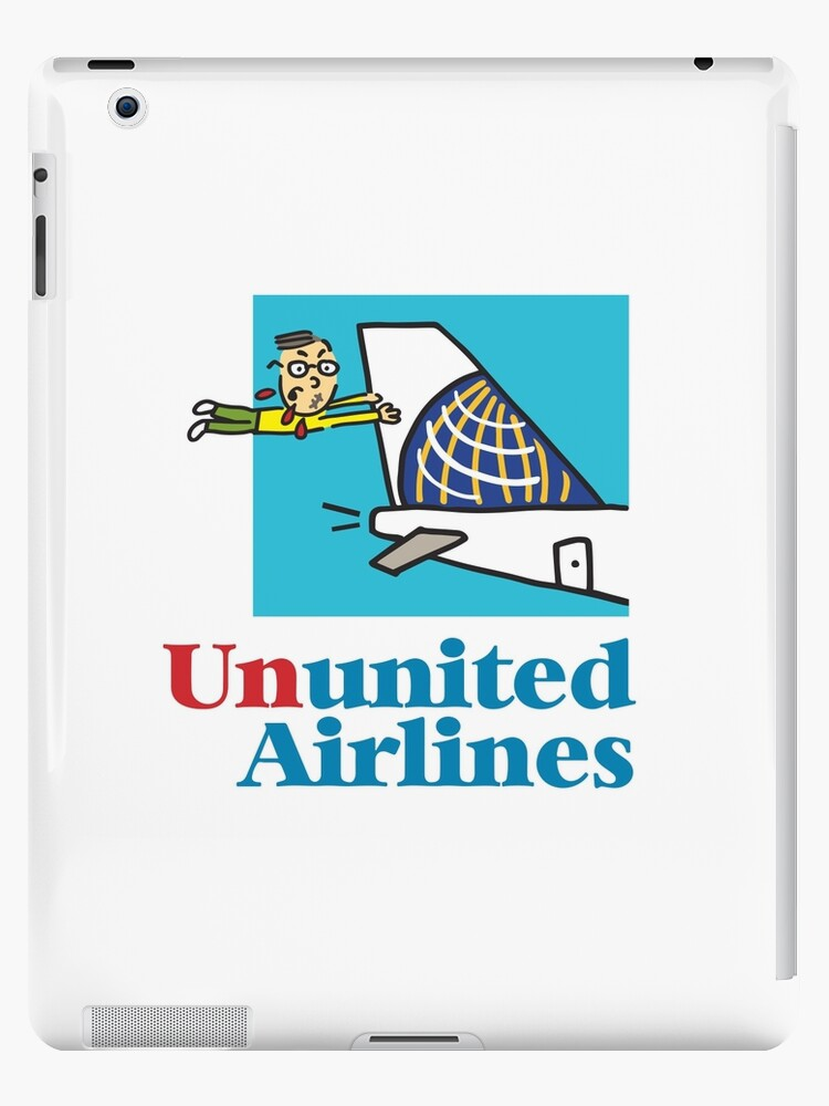'United Airlines new logo' iPad Case/Skin by happysketchy