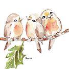 Three Little birds ♪♪♪♫ by Maree Clarkson
