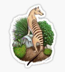 Thylacine Sticker