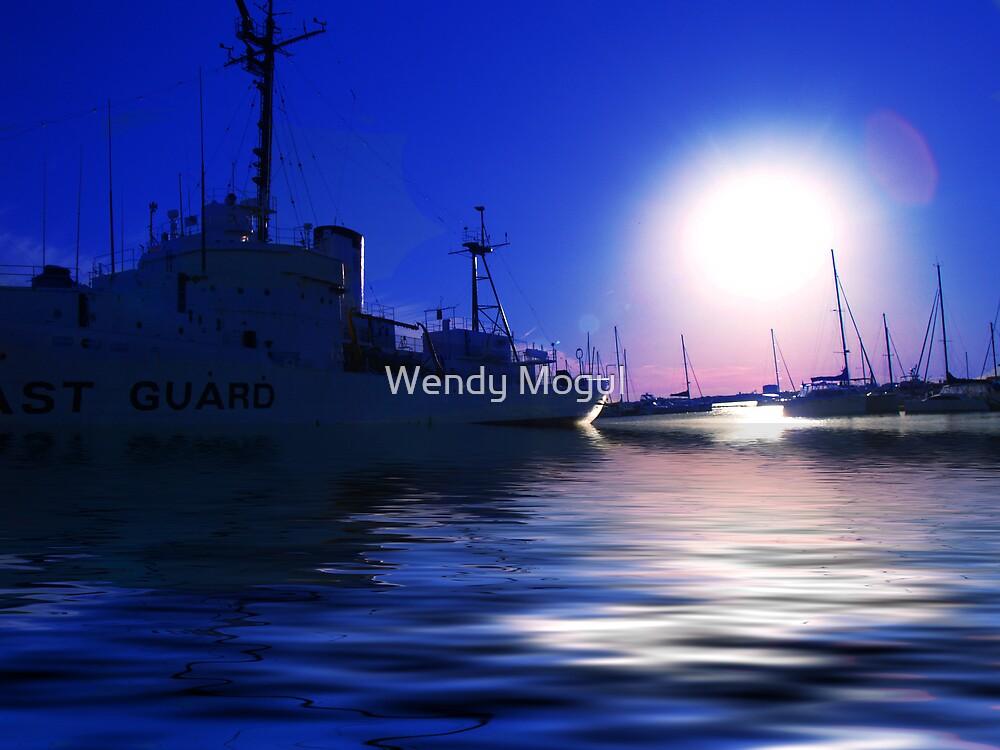 Maritime Blue by Wendy Mogul