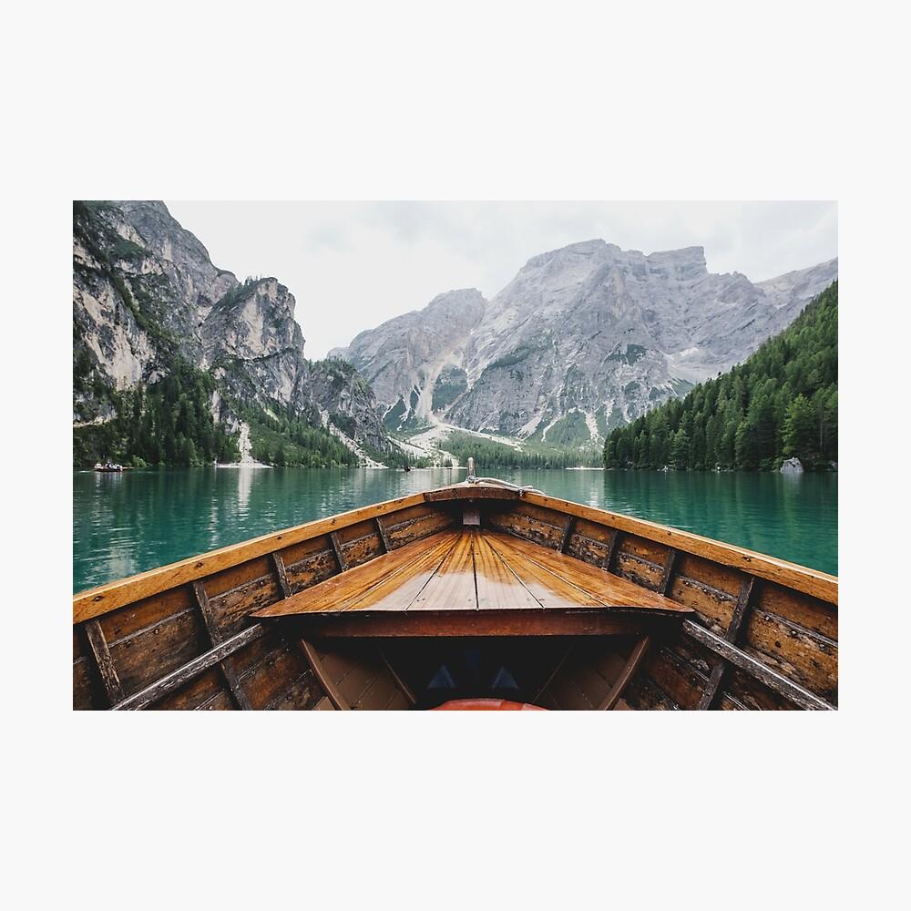 Lebe das Abenteuer - wild und frei Fotodruck