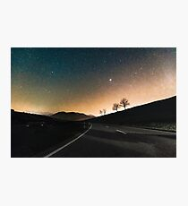 Starry Night Drive Photographic Print