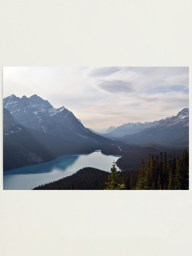 Alternate view of Mountain Lake Forest Dream Photographic Print