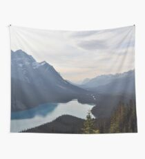 Mountain Lake Forest Dream Wall Tapestry