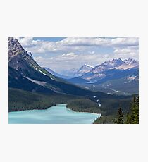 Relaxing Summer Mountain Vacation Nature Photography Photographic Print