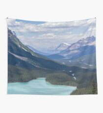 Relaxing Summer Mountain Vacation Nature Photography Wall Tapestry