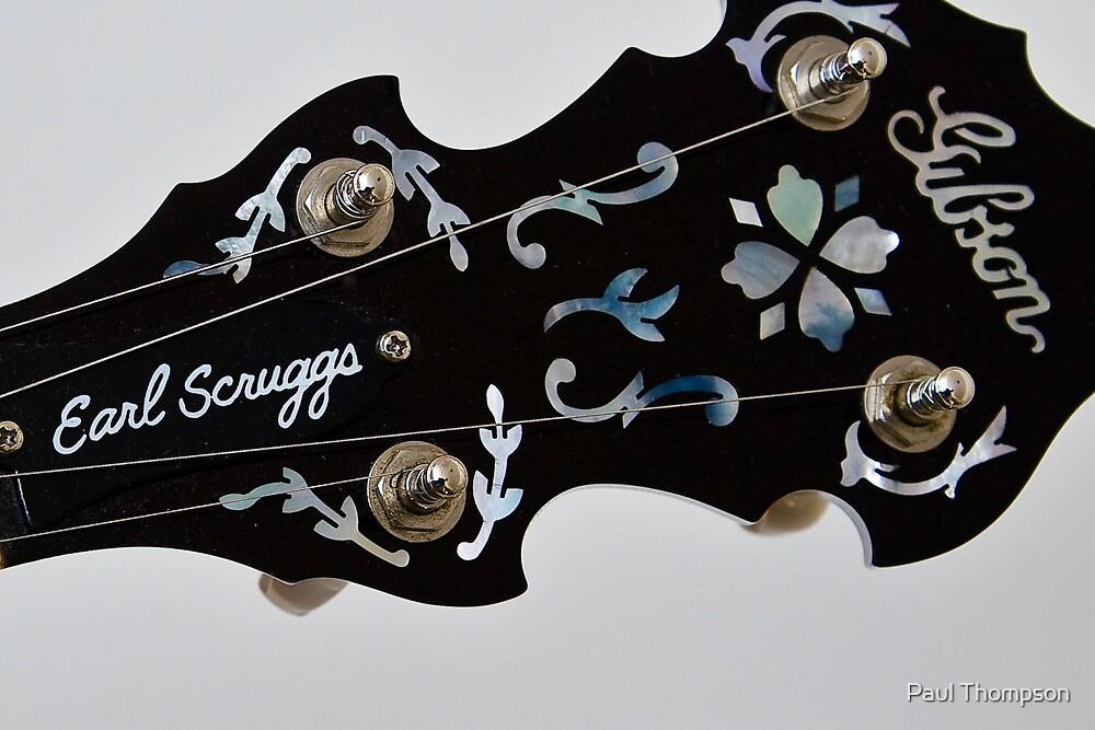 Gibson Earl Scruggs Mastertone Banjo - 3 by Paul Thompson