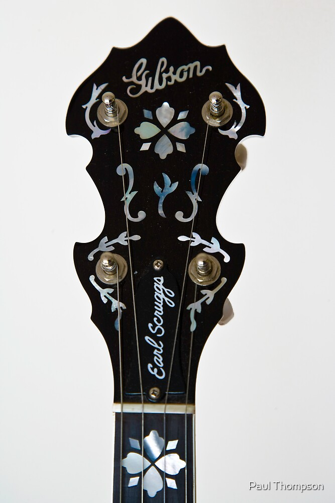 Gibson Earl Scruggs Mastertone Banjo - 5 by Paul Thompson