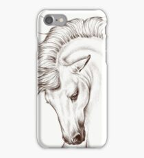 Andalusian Horse Drawing iPhone Case/Skin