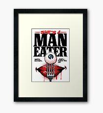 Maneater Framed Print
