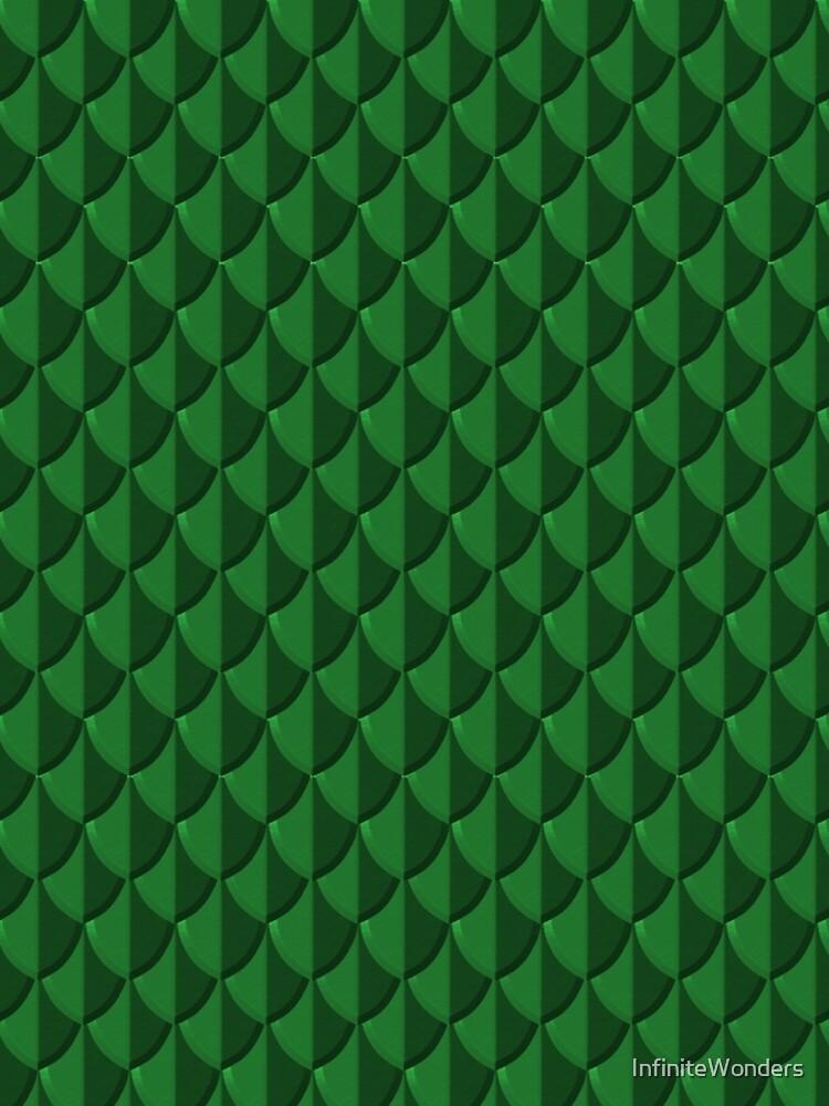 Green Dragon Scales by InfiniteWonders