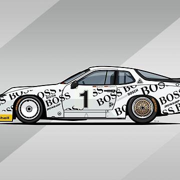 P 924 Carrera GTP/GTR Le Mans by monkeycom