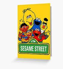 Sesame Street Greeting Card