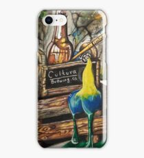 Acrylic beer iPhone Case/Skin