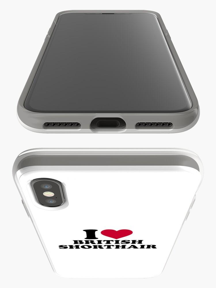 Vista alternativa de Funda y vinilo para iPhone Amo British Shorthair