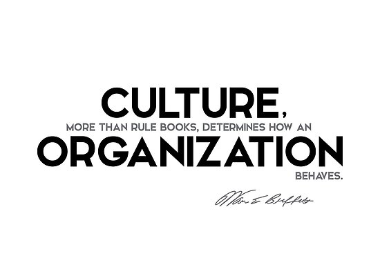 culture, organization behaves - warren buffett by razvandrc