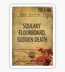U.S. Covert Operations Manual #06 Sticker