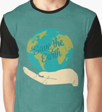 Save The Earth Graphic T-Shirt