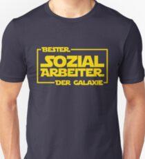 Bester Sozialarbeiter der Galaxie Unisex T-Shirt
