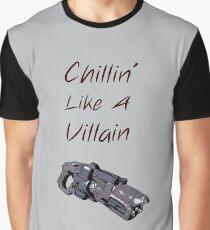 Captain cold. Chillin like a villain Graphic T-Shirt