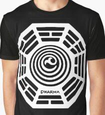Dharma Initiative Logo (Lost TV Show) Graphic T-Shirt