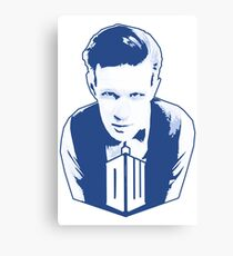 Get it Tee Of Character Dr. Who T-Shirt Canvas Print