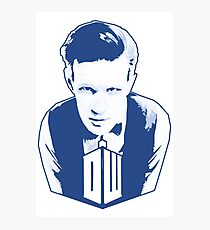 Get it Tee Of Character Dr. Who T-Shirt Photographic Print