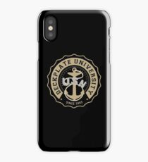 Deckplate University iPhone Case/Skin