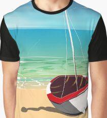 Torquay Devon vintage seaside travel poster Graphic T-Shirt