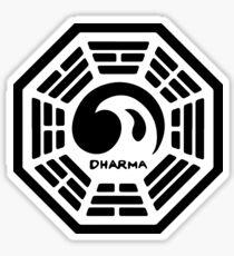 Dharma Initiative Logo (Lost TV Show) Sticker