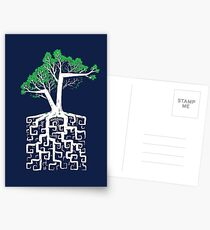 Square Root Postcards