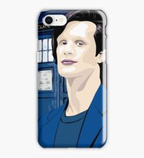 Blue Box Smith Cartoon Character Hoodie / T-shirt iPhone Case/Skin