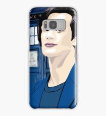 Blue Box Smith Cartoon Character Hoodie / T-shirt Samsung Galaxy Case/Skin