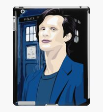 Blue Box Smith Cartoon Character Hoodie / T-shirt iPad Case/Skin