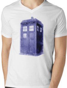 Blue Box Hoodie / T-shirt Mens V-Neck T-Shirt