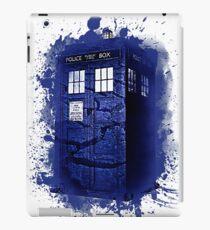Scratch Blue Box Hoodie / T-shirt iPad Case/Skin