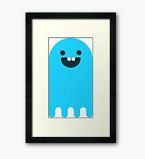 Hello Ghost Framed Print