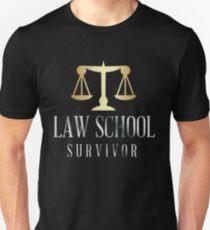 Law School Survivor - Humor Law School Grad T-Shirt