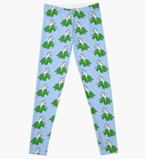 To The Disco (Unicorn Riding Triceratops) Leggings