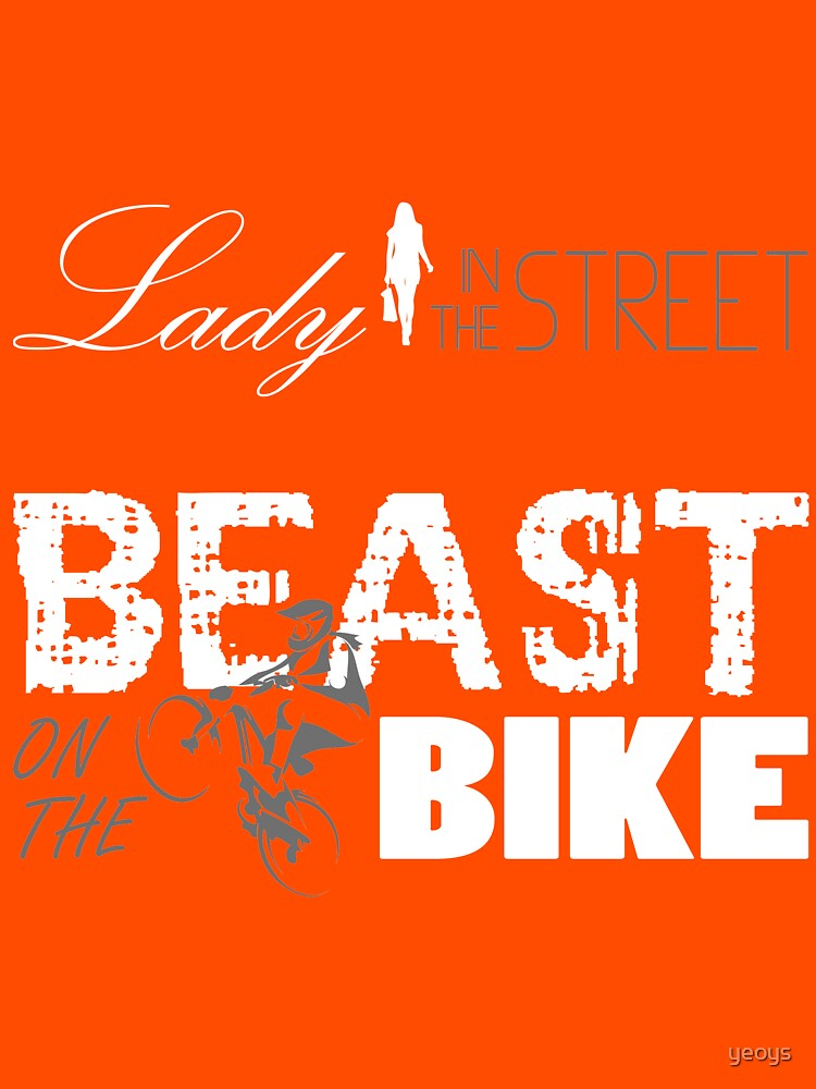 Beast on the bike by yeoys