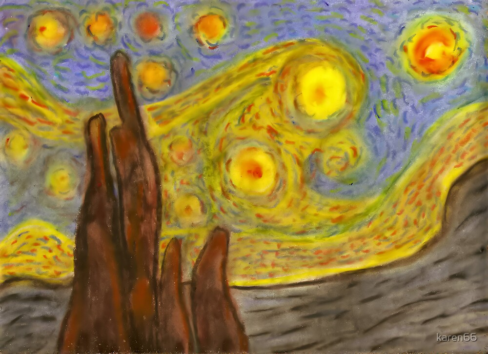 Another Starry Night by karen66