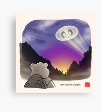 Panda Signal Canvas Print