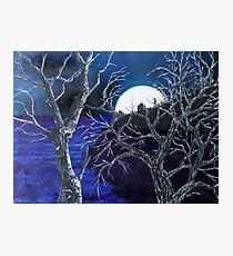 Super Moon Rise Photographic Print