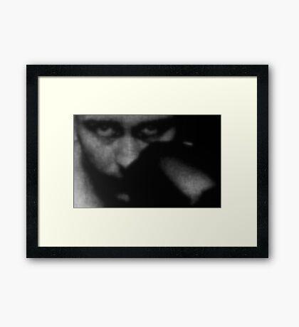THE BOXER (2) Framed Print