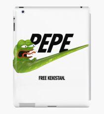 Nike Pepe FREE KEKISTAN #KEKFUGEESWELCOME iPad Case/Skin