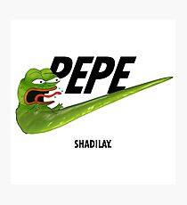 Nike Pepe - SHADILAY p.e.p.e Photographic Print