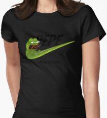 Nike Pepe - REEEEEEEEEEEEEEEEEEEEE Womens Fitted T-Shirt