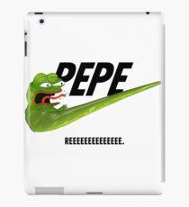 Nike Pepe - REEEEEEEEEEEEEEEEEEEEE iPad Case/Skin