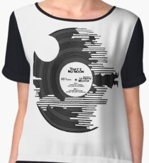 Star Wars - Death Star Vinyl Chiffon Top